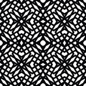Monochrome messy seamless pattern with parallel lines, black and — Vector de stock