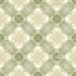 Vintage floral quatrefoil seamless pattern, vector geometric abs — Stock Vector #58726653
