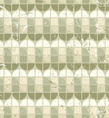 Vintage bright geometric seamless pattern, stained glass abstrac — Stockvektor