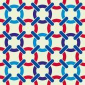 Lattice seamless pattern, vector background. — Stock Vector