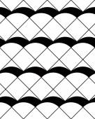 Azulejos retro sin patrón, vector de fondo. — Vector de stock