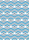 Pastel geometric art seamless pattern, vector mosaic colored int — Stockvektor