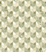Vintage neutral geometric seamless pattern, stained glass abstra — Vetor de Stock