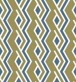 明るい幾何学的なシームレスなジグザグ パターン、無限対称アート — ストックベクタ