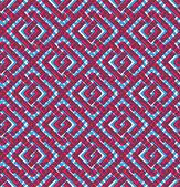 Colorful geometric seamless pattern, symmetric endless vector ba — Stock Vector