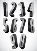 3d jeu de grands nombres condensée. — Vecteur