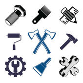 Work tools collection — Stock Vector