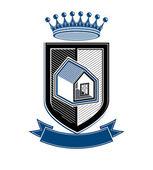 Royal house  symbol — Stock Vector