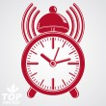 Постер, плакат: Elegant alarm clock