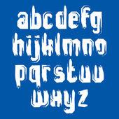 Alphabet lowercase letters set — Stock Vector