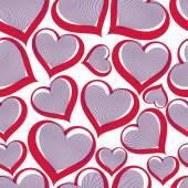 Valentines day conceptual art backdrop — Stock Vector