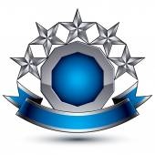 Stars classic emblem — Stock Vector