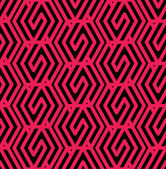 Geometric messy lined seamless pattern — Stockvektor