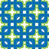 Geometric tiles seamless pattern. — Stock Vector