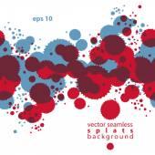 Bright contrast splattered pattern — Stock Vector