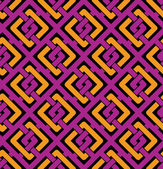 Colorful geometric seamless pattern — Stock Vector