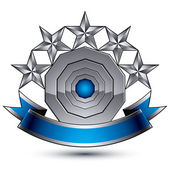 Branded  geometric symbol — Stock Vector