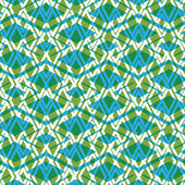 Geometric symmetric lined seamless pattern — Stock Vector