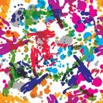 Colorful splattered web design pattern — Stock Vector #68229309