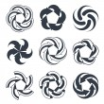 Arrows abstract conceptual symbol — Stock Vector #68228185