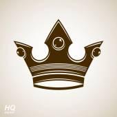 Vintage luxury crown — Stock Vector