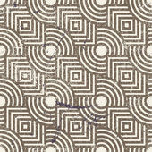 Vintage geometric seamless background — Stock Vector