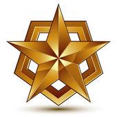3d classic royal symbol — Cтоковый вектор