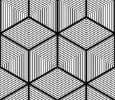 Regular contrast endless pattern — Stock Vector