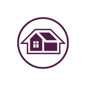 Home, house  symbol icon — Stock Vector