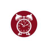 Alarm-clock 3d  symbol — Stock Vector