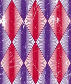 Rhombus geometric seamless pattern — Stock Vector