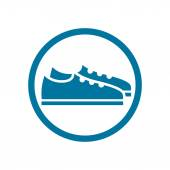 Footwear, shoes ico — Stock Vector