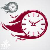 Time is running out concept — Stock Vector
