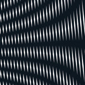 Optique fond avec des lignes géométriques monochromes — Vecteur