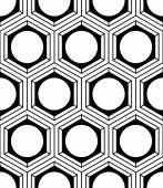 Symmetric seamless pattern — Stock Vector