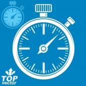 Classic stopwatch symbol. — Stock Vector