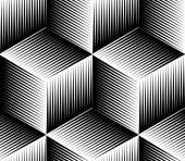 Фон с трехмерной фигуры. — Cтоковый вектор