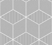 Geometric seamless 3d pattern — Stock Vector