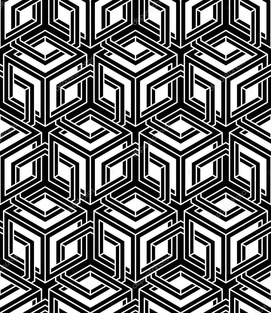 与3d 几何数字模式 — 图库矢量图像08 ostapius