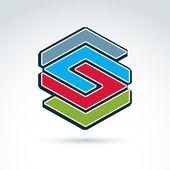 Grafik-Design-element. — Stockvektor