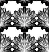 Ozdobné jednobarevné pozadí abstraktní — Stock vektor