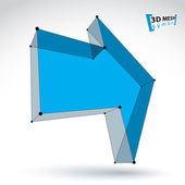 Colorful forward arrow — Stock Vector