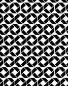 Monochromatyczne niekończące się tekstury z figur geometrycznych — Wektor stockowy