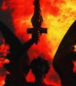 Anioł śmierci — Zdjęcie stockowe