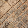 Brick wall architectural background texture (Jerusalem, Israel) — Stock Photo #59924037