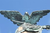 Eagle as a symbol of power, grandeur, and power — Stock Photo