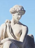 Fragment of antique statue of goddess of love Aphrodite (Venus) — Stock Photo