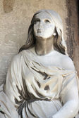 Fragment os statue of Mary Magdalene — Stock Photo