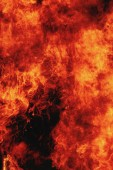 Fire background as a symbol of hell and inferno — Stock Photo