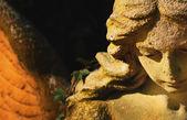 Sculpture of an angel (details) — Stock Photo